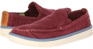 Burgundy Washed Canvas Timberland Earthkeepers Hookset Handcrafted Slip-On for Men (Size 9)