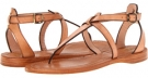 Natural Veg Tan Frye Rachel T Sandal for Women (Size 7)
