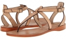 Light Taupe Veg Tan Frye Rachel T Sandal for Women (Size 7)
