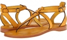 Yellow Veg Tan Frye Rachel T Sandal for Women (Size 7)