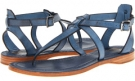 Blue Veg Tan Frye Rachel T Sandal for Women (Size 7)
