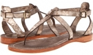 Bronze Veg Tan Frye Rachel T Sandal for Women (Size 7)