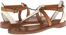 Off White Multi Soft Full Grain Frye Rachel T Sandal for Women (Size 7)
