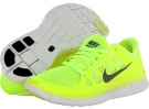 Volt/Summit White/Barely Volt/Medium Base Grey Nike Free 5.0+ for Women (Size 5.5)