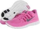 Red Violet/Bright Magenta/Summit White/Iron Ore Nike Free 5.0+ for Women (Size 5.5)