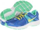 Distance Blue/Green Glow/Summit White/Sonic Yellow Nike Dart 10 for Women (Size 5.5)