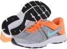 Wolf Grey/Atomic Orange/White/Glacier Ice Nike Dart 10 for Women (Size 5.5)