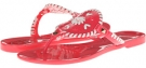 Bright Pink/White Jack Rogers Georgica Jelly for Women (Size 5)