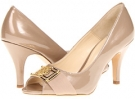 Latte Pearl Patent Leather Isola Dore II for Women (Size 10)