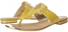 Saffron Yellow Patent Isola Alary II for Women (Size 7)