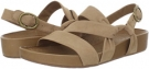 Corda Tan Nubuck Naya Brittany for Women (Size 8)
