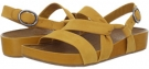 Hot Mustard Yellow Nubuck Naya Brittany for Women (Size 5)