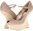 Alexander McQueen Sandal Pelle - Metallic Sugar Size 7