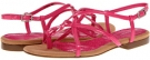 Magenta Rockport Nahara Strap Sandal for Women (Size 7.5)