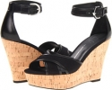 Black Canvas Franco Sarto Raina for Women (Size 7)