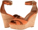 Pumpkin Canvas Franco Sarto Raina for Women (Size 7)