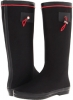 Black/Red Romantic Soles Avery for Women (Size 5)