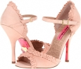 Nude Suede Betsey Johnson Balladd for Women (Size 7)