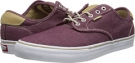 Oxford Burgundy Vans Chima Pro for Men (Size 11)