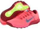 Atomic Red/Noble Red/Flash Lime/Tropical Teal Nike Zoom Terra Kiger for Women (Size 5)