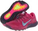 Raspberry Red/Purple Dynasty/Pink Foil/Gamma Blue Nike Zoom Terra Kiger for Women (Size 5)