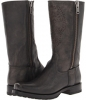 Frye Heath Skull Outside Zip Size 7.5