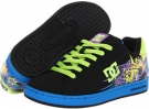 Black/Multi DC Pixie Rock for Women (Size 7)