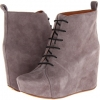Suede Wedge Boot Women's 6