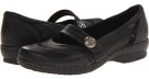 Black Leather Clarks England Ideo Rake for Women (Size 5.5)