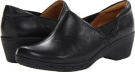 Black Leather Clarks England Un.Lory for Women (Size 5.5)