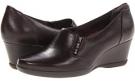 Dark Brown Leather Clarks England Neala Sun for Women (Size 5.5)