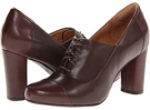 Dark Brown Leather Clarks England Loyal Aster for Women (Size 5.5)
