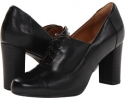 Black Leather Clarks England Loyal Aster for Women (Size 5.5)