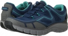 Navy Mesh/Aqua Clarks England Wave.Trail GTX for Women (Size 5.5)