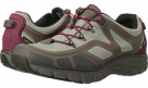 Stone Mesh/Red Clarks England Wave.Trail GTX for Women (Size 5.5)