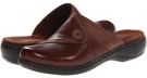 Brown Leather Clarks England Leisa Berry for Women (Size 5.5)