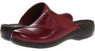 Burgundy Clarks England Leisa Berry for Women (Size 5.5)