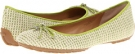 Natural/Lime Isaac Mizrahi New York Faun for Women (Size 7)