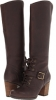 Dark Brown Forty Leather Timberland Earthkeepers Trenton Tall Boot for Women (Size 9.5)