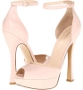 Pink Leather Nine West Nirrel for Women (Size 7)