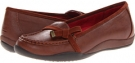 Brown VIONIC with Orthaheel Technology Mae Bow Flat for Women (Size 7)