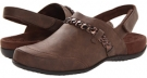 Chocolate VIONIC with Orthaheel Technology Kerstin Mule for Women (Size 7)