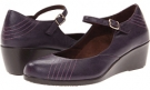 Purple VIONIC with Orthaheel Technology Amelia Wedge for Women (Size 7)
