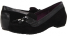 Black VIONIC with Orthaheel Technology Florence Tassel Flat for Women (Size 7)