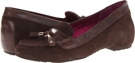 Espresso VIONIC with Orthaheel Technology Florence Tassel Flat for Women (Size 7)