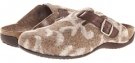 Brown VIONIC with Orthaheel Technology Flores Textile Mule for Women (Size 7)