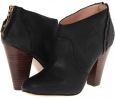 Black Oil Cow Suede Betsey Johnson Jensen for Women (Size 7)