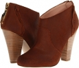 Cognac Oil Cow Suede Betsey Johnson Jensen for Women (Size 7)