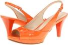 Orange Patent Nine West 7Kalner for Women (Size 9.5)