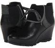 Black Smooth Merrell Wedgetarian Eve for Women (Size 5)